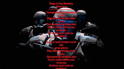 star wars republic commando  rage   shadow