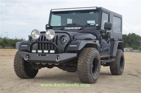 Jeep Modification by Mahindra Thar Jeep Modification Coimbatore