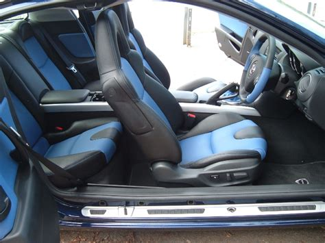 interieur rx8 zoomby s new blue rx8 s custom interior piks