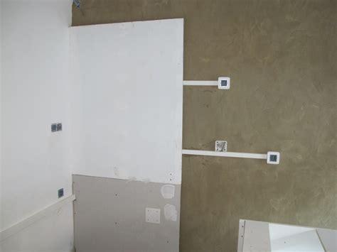 electricite cuisine semaine 8 peintures cuisine électricité ciment lissé
