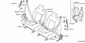 Nissan Rogue Belt Tongue  Pretensioner   Right  Front