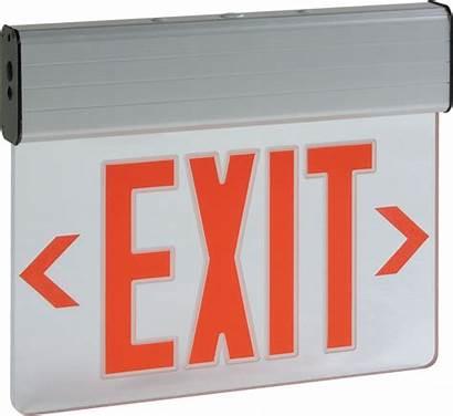 Exit Lit Edge Led Exitronix Volt Lamp