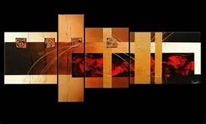 Wandbilder Xxl Mehrteilig : wandbilder deko handgemalt und mehrteilig sind sie echte hingucker ~ Markanthonyermac.com Haus und Dekorationen