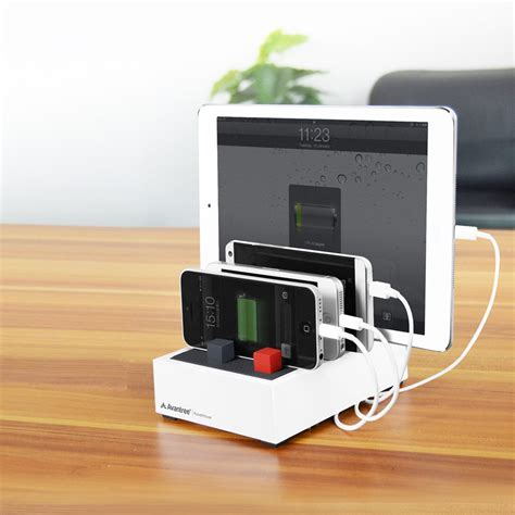 desk l with charging station avantree powerhouse plus high power desk usb charging