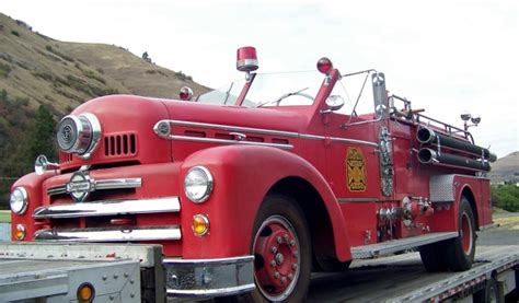 Vintage Seagrave Convertible Fire Engine Heads Home To Menlo Park Fire Protection District Antique Nickel Kitchen Hardware Stickley Brothers Furniture Garden Tractor Values Summer Fireplace Covers Travel Posters Uk Cupboard Handles Safe Restoration Motorcycle Replica