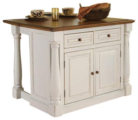 houzz kitchen islands home styles monarch kitchen island with two stools
