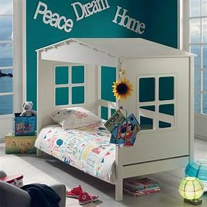 Cabane Chambre Enfant : notre lit cabane en pin massif pour vivre comme robinson sur son le ~ Teatrodelosmanantiales.com Idées de Décoration
