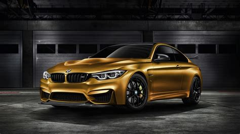 2018 Bmw M4 Gts Sunburstgold 4k Wallpaper Hd Car Wallpapers