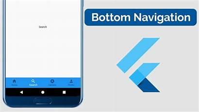Bottom Navigation Flutter Tabs