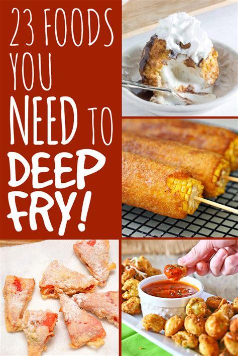 fried deep foods recipes fry food fryer fair weird frying immediately need desserts buzzfeed bacon recipe ok most state carnival