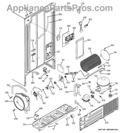 ge wrx condenser fan motor appliancepartsproscom