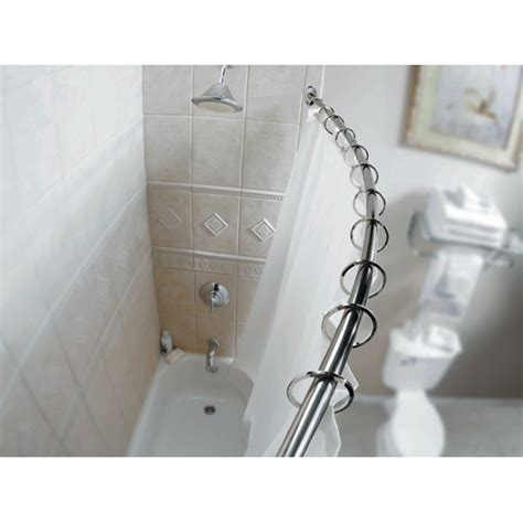 curved shower rod rona
