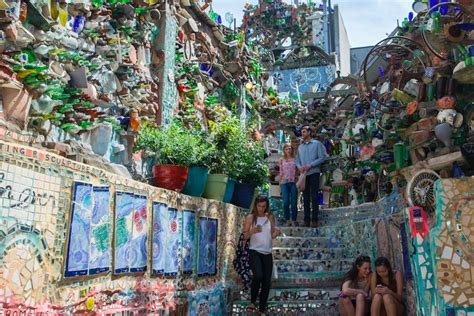 philadelphia s magic gardens these are the dates for twilight in the gardens 2017