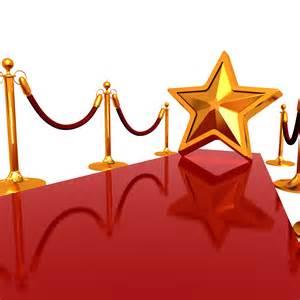 Stars Red Carpet Template Free