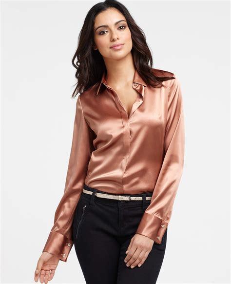 blouse photos in satin blouse silk blouses