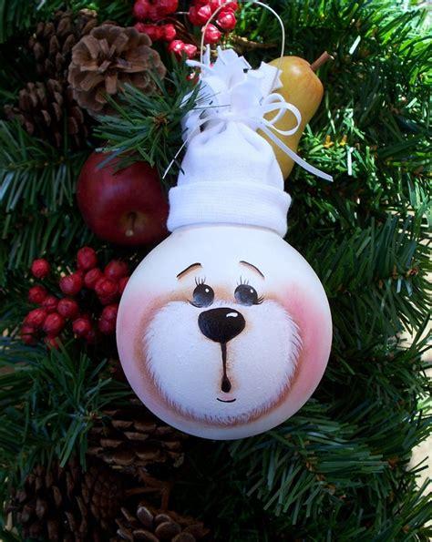 light bulb ornaments  easy diy christmas bulbs