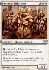 samurai enforcers magic chions of kamigawa mtg