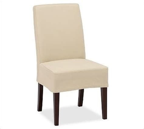napa side chair slipcover length brushed canvas