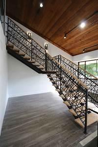 Metal Floating Stairs  U0026 Straight Stair Photo Gallery