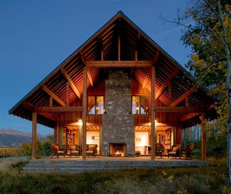 country ranch house plans modern ranch house in colorado beautiful rustic design centers around fireplace modern