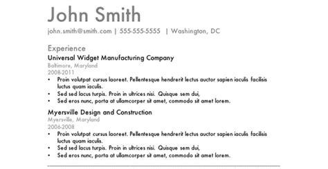 most effective resume templates gfyork