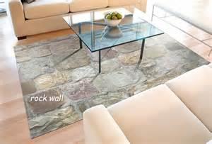 faux flooring printed floor mat