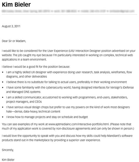 Do I Send A Cover Letter With My Resume by Don T Be Lazy Write That Cover Letter Bieler Ux