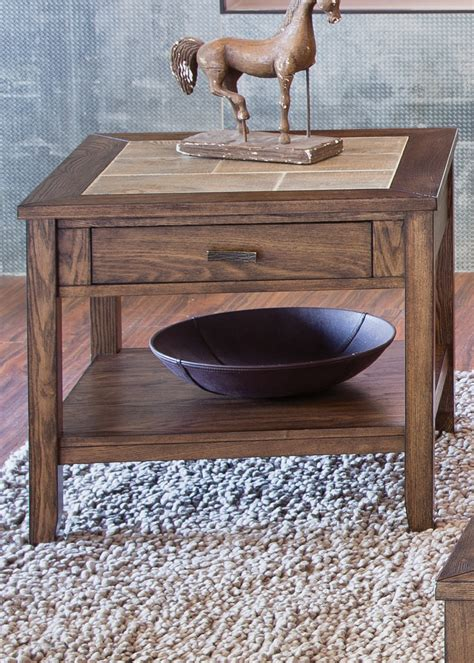 wooden table with tile top end tables designs tile top end tables with ceramic