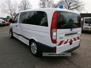 Vito 115 Cdi : mercedes benz vito 115 cdi 2005 ambulance truck photo and specs ~ Gottalentnigeria.com Avis de Voitures