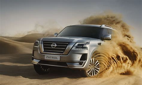 nissan patrol arrives  middle east heres