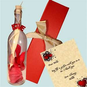 10 romantic birthday gifts to make his birthday more special With love letter in a bottle romantic personalized gifts