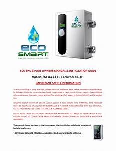 Manual De Instalacion Calentadores De Agua El U00c9ctricos Eco