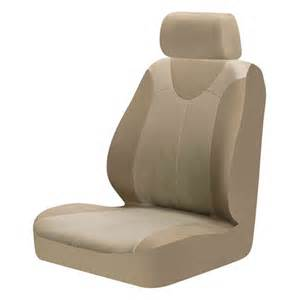 braxton low back 2pc seat cover tan walmart com