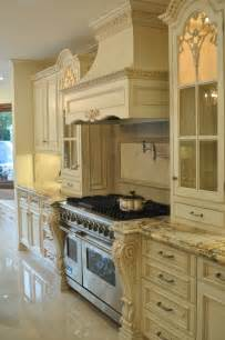 French Country Cream Kitchen Cabinets