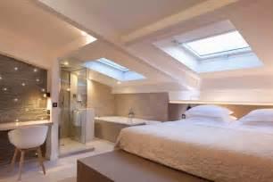 salle de bain dans chambre sous comble comment aménager les combles de sa maison quot ma