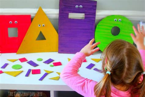 feed the hungry shape monsters sorting the 421 | Feed the monsters shape sorting game for preschoolers 680x453