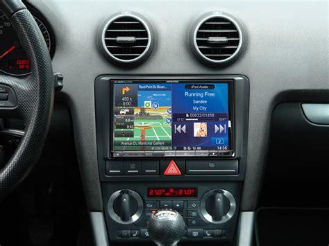 autoradio gps alpine  ine wr ou xd  pour audi