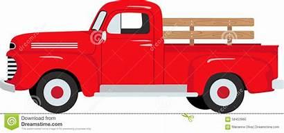 Truck Farm Pickup Clipart Farmer Chevy Trucks