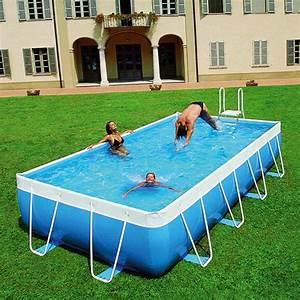 Piscine Pas Cher Tubulaire : piscine hors sol 8x4 ~ Dailycaller-alerts.com Idées de Décoration