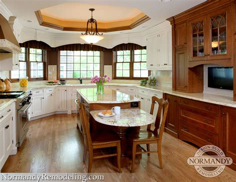 kitchens kitchen island with table height seating 2017