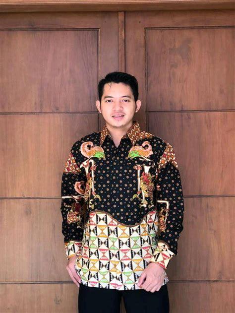 jual batik naufa kencana kemeja batik motif wayang bahan katun halus di lapak batik naufa