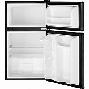 Ge Gde03glhlb 24 U0026quot  Cleansteel 3 1 Cuft Compact Refrigerator