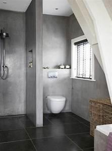 idee decoration salle de bain salle de bain en gris With deco salle de bain douche italienne