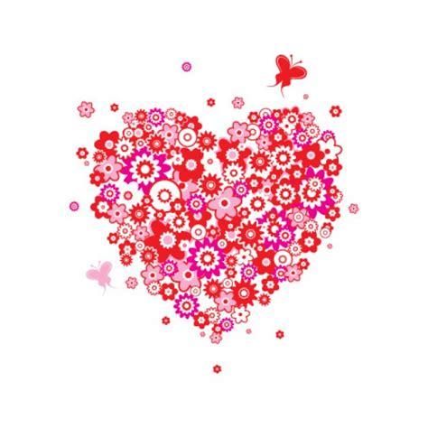bloem hart bloem hart download gratis vector