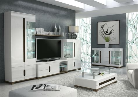 Tv Unit And Sideboard by Lorenz High Gloss White Sideboard Tv Unit Display