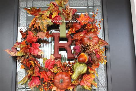 Excellent Fall Wreaths For Front Door Fall Wreaths For