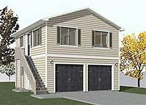 Garage plans two car two story garage with apartment for 2 story garage apartment