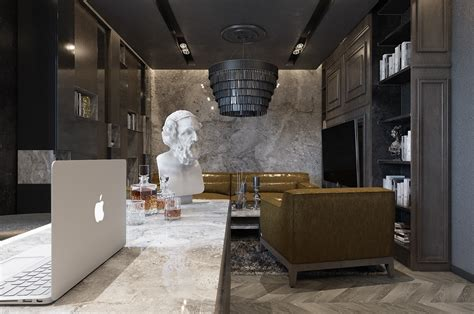 Three Luxurious Apartments With Modern Interiors by Three Luxurious Apartments With Modern Interiors