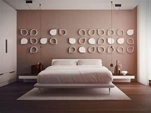 Schlafzimmer Deko Wand : schlafzimmerwand gestalten 40 wundersch ne vorschl ge ~ Buech-reservation.com Haus und Dekorationen