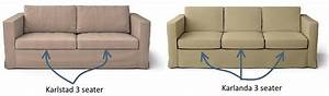 karlstad vs karlanda two karls enter 1 couch leaves With difference between sofa couch and settee